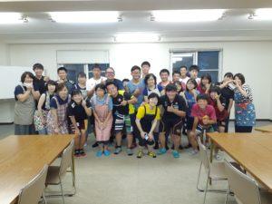 芦別高校合同練習(小樽潮陵高校ラグビー部)